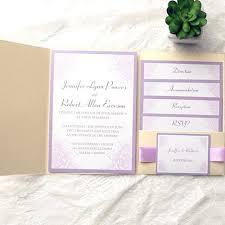 purple and gold wedding invitations pocket wedding invitations ryanbradley co