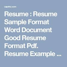 Best Resume Sample by 10 Best Resume Samples For Job Images On Pinterest Resume Entry