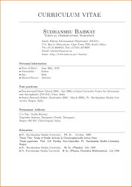 Free Curriculum Vitae Blank Template Resume Resume Template Free Fill In The Blank Resume Templates
