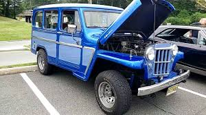 jeep dark blue 1962 light dark metal flake blue willys station wagon youtube