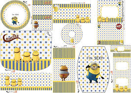 minions free printable candy bar labels fiesta