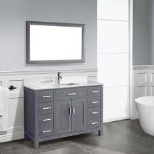 Wainscoting Shaker Style Grey Bathroom Vanity 12 Photo Bathroom Designs Ideas Grey Shaker