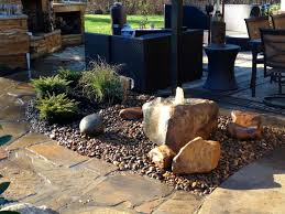 bubbling boulder water feature ideal for a small area water