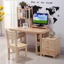 Study Desk Ideas Korean Child Simple Wooden Computer Desk Student Study Table