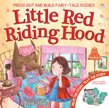 little red riding hood press out and build fairy tale scenes