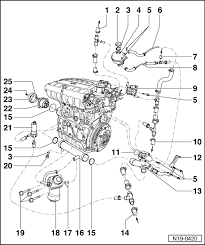 vw golf mk4 engine diagram vw wiring diagrams instruction