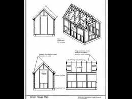hot house plans the wood frame green house plans youtube