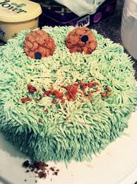 zombie cookie monster birthday cake u2013 simply irresistible baking
