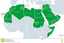 World Political Map by Arab World Political Map Stock Photo Image 75844656