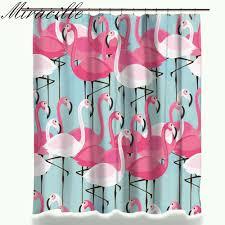 Pink Flamingo Bathroom Accessories by Popular Bathroom Curtains Pink Buy Cheap Bathroom Curtains Pink