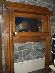 antique salvaged fireplace mantel u2014 interior exterior homie