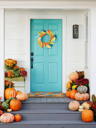 Front Door Colors For Gray House Fall Decorating Ideas For Around The House Hgtv Decorating And