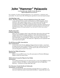 Resume Examples Pdf Free Download by Tv Host Resume Sample Free Resume Example And Writing Download