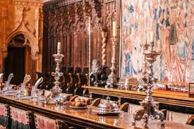 Visiting Hearst Castle Californias Royal Palace The Blondera - Hearst castle dining room