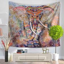 Hippie Home Decor Online Get Cheap Elephant Mandala Tapestries Aliexpress Com