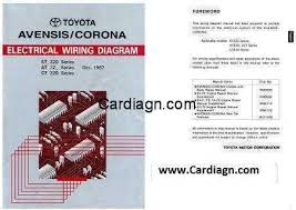 toyota corolla ae110 wiring diagram pdf efcaviation com