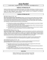 sample cover letter analyst business analyst cover letter example