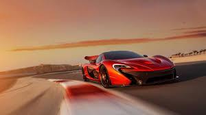 2014 mclaren p concept sports car red