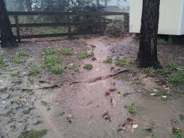 major yard drainage issue