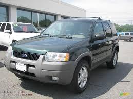 Ford Escape Green - 2002 ford escape xlt v6 in dark highland green metallic d66990