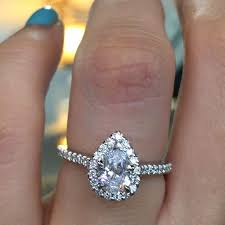 halo engagement ring settings only pear engagement ring settings white gold halo
