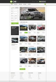 certified lexus cars for sale car dealer responsive website template 52302