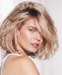 how to style a wob hairstyle a medium blonde hairstyle from the in the mood for fun