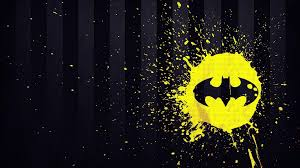 Paint Splatter Wallpaper by Batman Dc Comics Stripes Logo Paint Splatter Wallpaper 104879