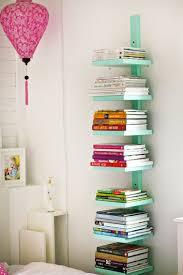 astuce rangement chambre bibliothèque verticale pour rangement livres dans une chambre