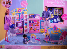 amazon com barbie happy family baby store playset 2002 toys