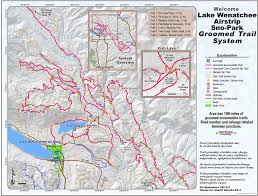 Wenatchee Washington Map by Lake Wenatchee Airstrip Sno Park Maplets