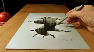 3d painting on paper with pencil easy 3d pencil drawings 3 decoration