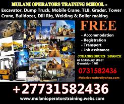 mulani operators welding training 27731582436 trade test