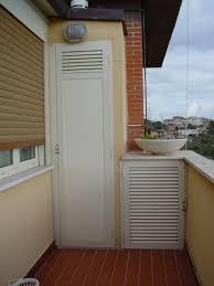 armadio da esterno in alluminio infissi in alluminio
