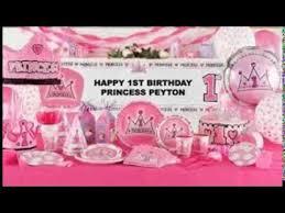 1st birthday decoration youtube