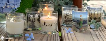 personalize candles custom photo candle holders diy packing transfers