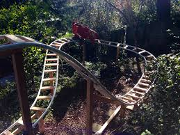 dad builds backyard roller coaster for family ksl com