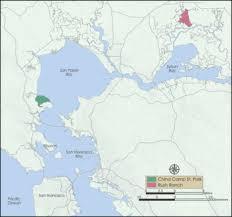 san francisco map east bay san francisco bay national estuarine research reserve