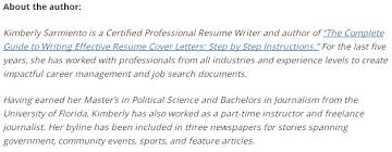 Summary Examples For Resume by The Art Of Writing A Great Resume Summary Statement