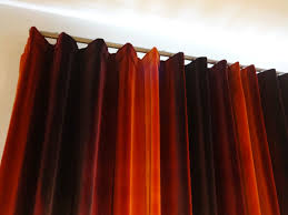 Chartreuse Velvet Curtains by Wave Top Curtains In Amazilia Velvet Finished Projects