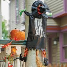 Halloween Office Door Decorating Ideas by Crashing Witch Halloween Decoration Witches And Decoration