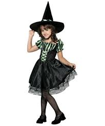 female witch costume lime striped witch kids halloween costume girls witch costumes