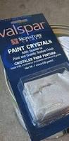 valspar paint crystals found at lowes i used walmart paint stir