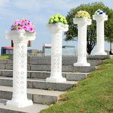 wedding arches and columns wedding decorative plastic column buy wholesale plastic