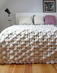 Chunky Wool Rug Best 20 Hand Knit Blanket Ideas On Pinterest Arm Knitting