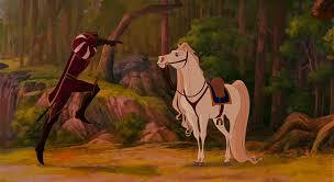 film disney jump in animals film disney enchanted 2d animation jump spin horses prince
