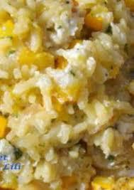 risotto à la courgette jaune et à la ricotta