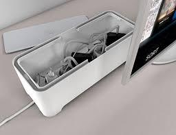 Desk Cord Organizer Amazon Com E Box U2013 Power Cable Box For Desk U0026 Tv U0026 Computer