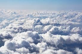 himmel spr che ein stückchen himmel m proust wolken www stimmungs bilder de