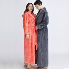 robe de chambre douce femmes plus la taille douce comme de la soie peignoir